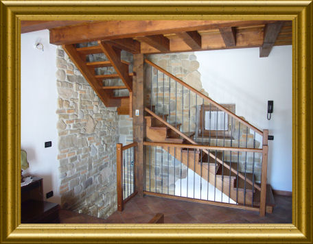 Gasparini e c produzione su misura vendita e - Scale in legno per interno ...